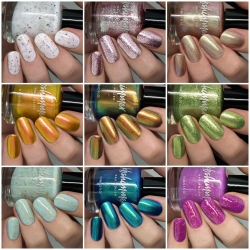 Beach Break Nail Polish 9 Piece Set