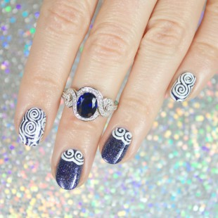 wondrously-polished_BERRICLE_KBShimmer_nail-art_jewelry 7