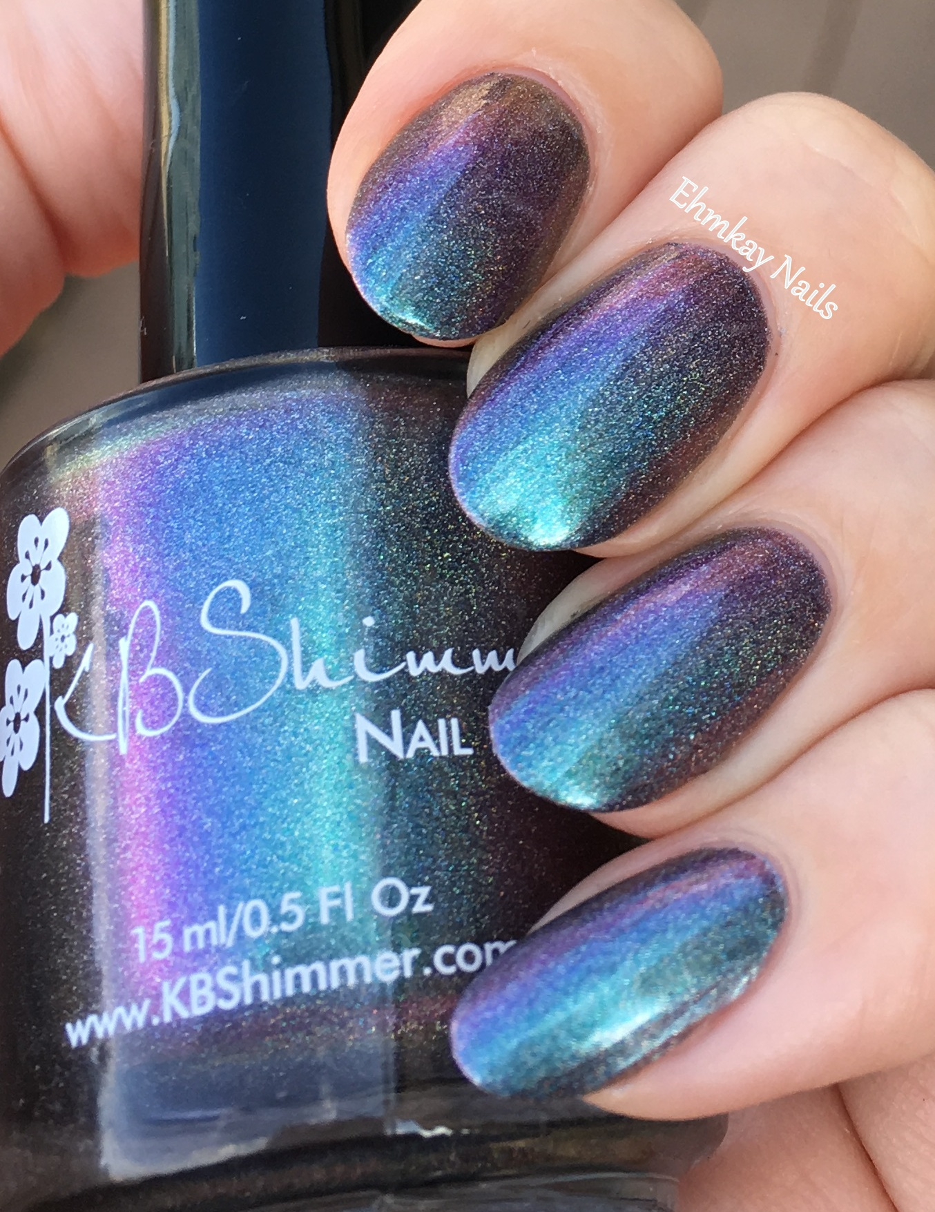 KBShimmer Hella Holo Customs KBShimmer None Of Your Bismuth 11