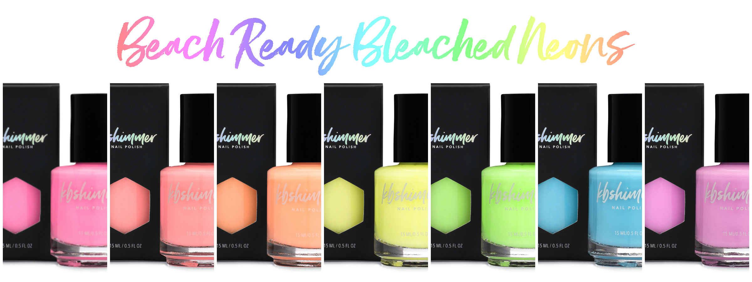 Unique Glitter Nail Polish, Bath & Body | KBShimmer