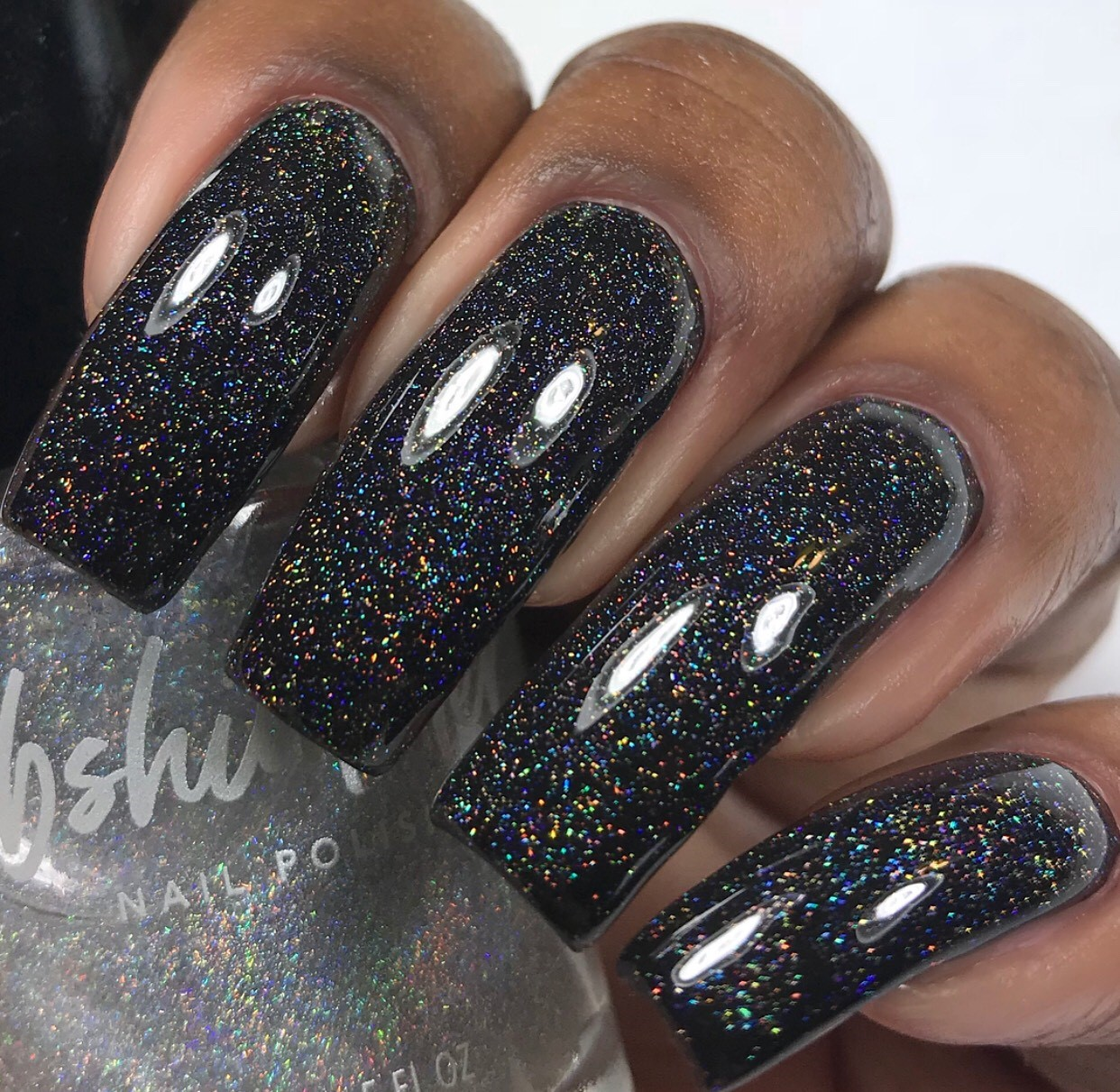 Nail Polish: KBShimmer A Star Is Formed Micro Holo Flake Glitter Topper