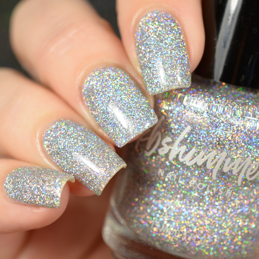 Shimmer And Sparkle Nail Polish: KBShimmer Alloy Matey Holographic Glitter Nail Polish