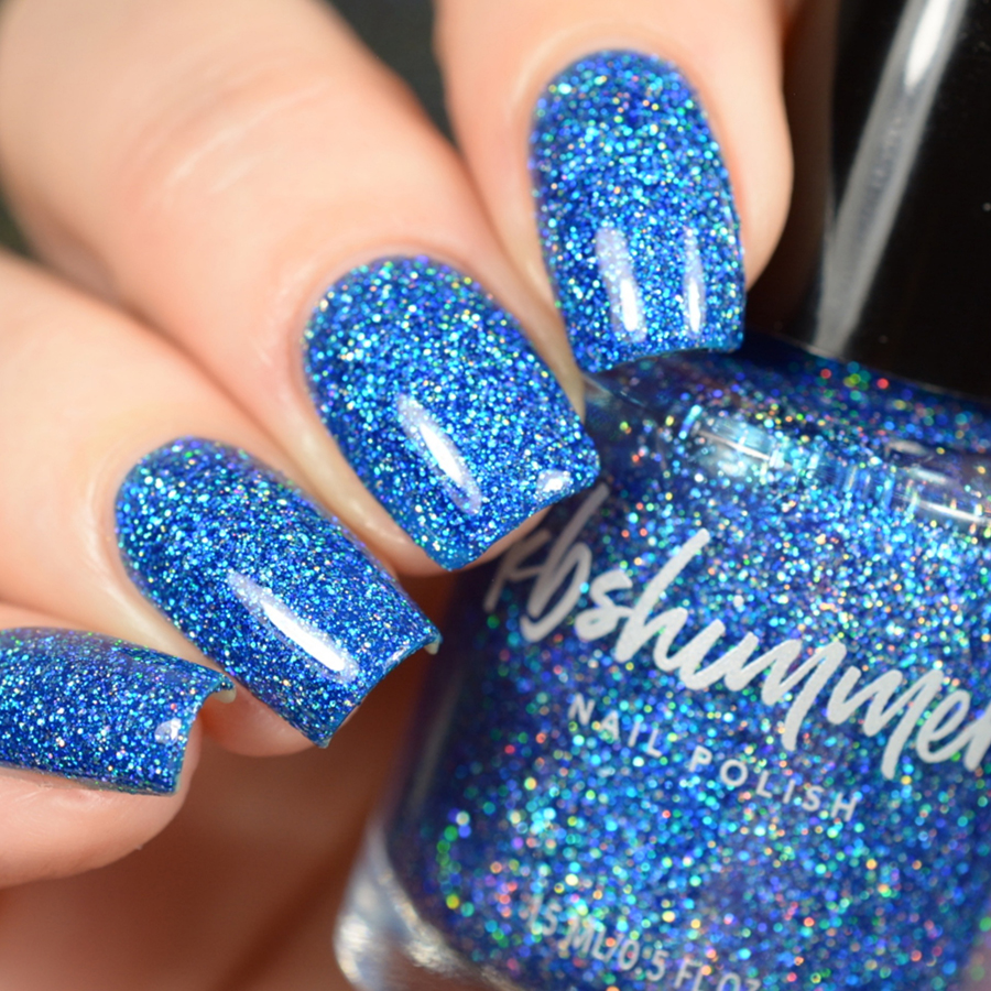 KBShimmer Jewels Of The Trade Blue Holographic Glitter Nail Polish