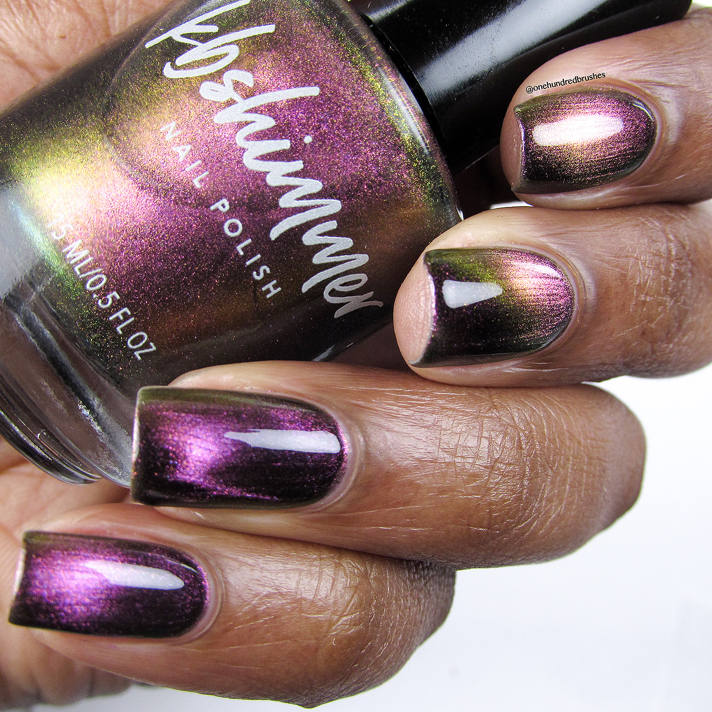 KBShimmer Just A Phase Multichrome Magnetic Nail Polish