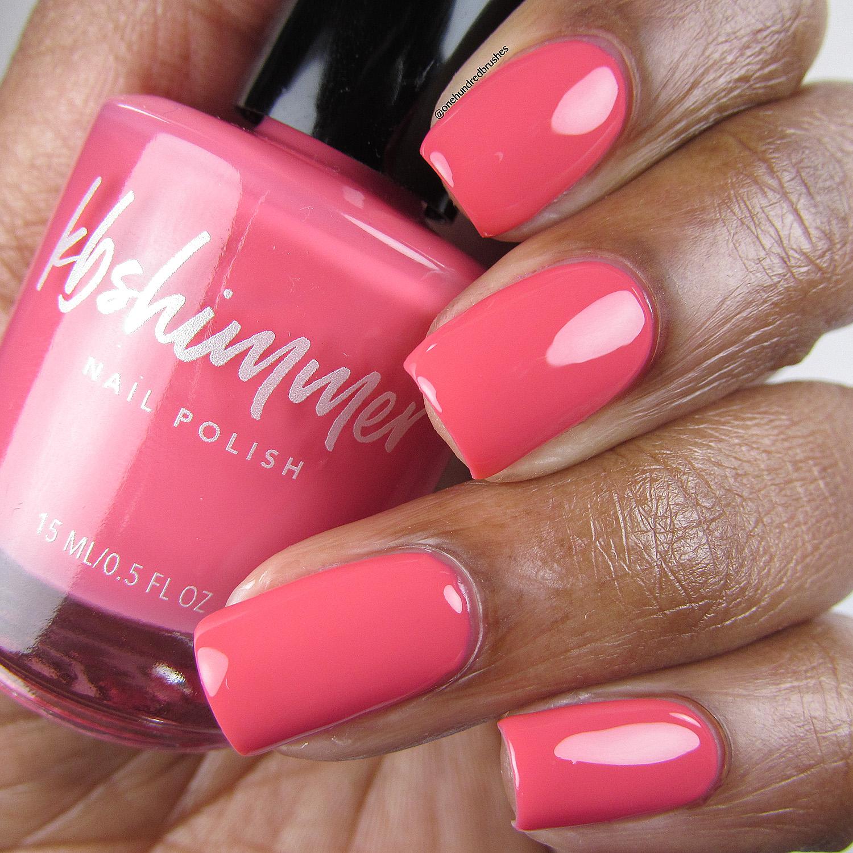 Pink Glitter Coral 8 ml Gel Nail Polish Picky Nails - SO8-11