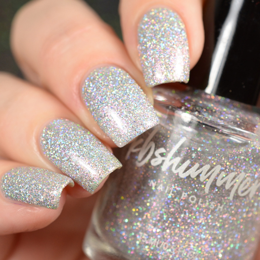 KBShimmer Pearls Gone Wild Holographic Glitter Nail Polish