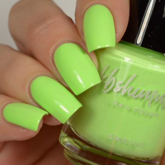 Lime All Right Nail Polish