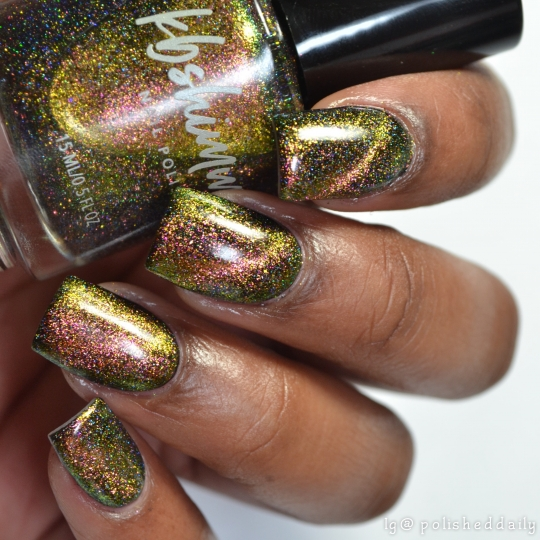 Moon On Over Multichrome Magnetic Flakie Nail Polish
