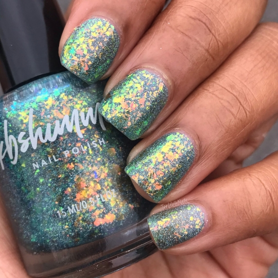 Pretty Shore Flakie Nail Polish