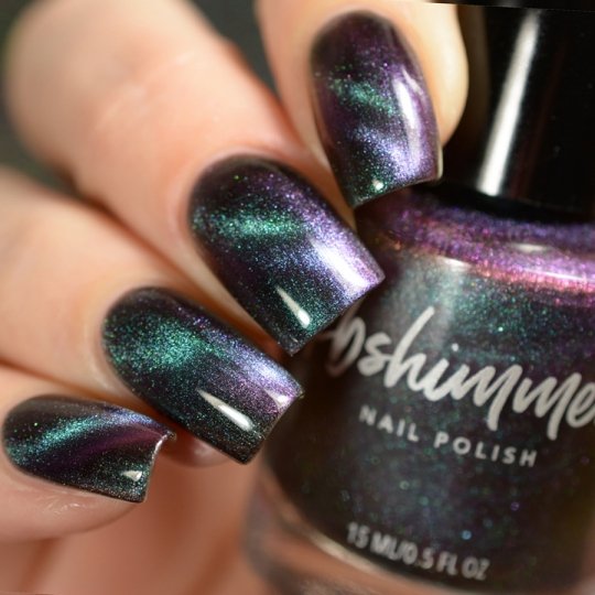 Spaced Out Multichrome Magnetic Nail Polish