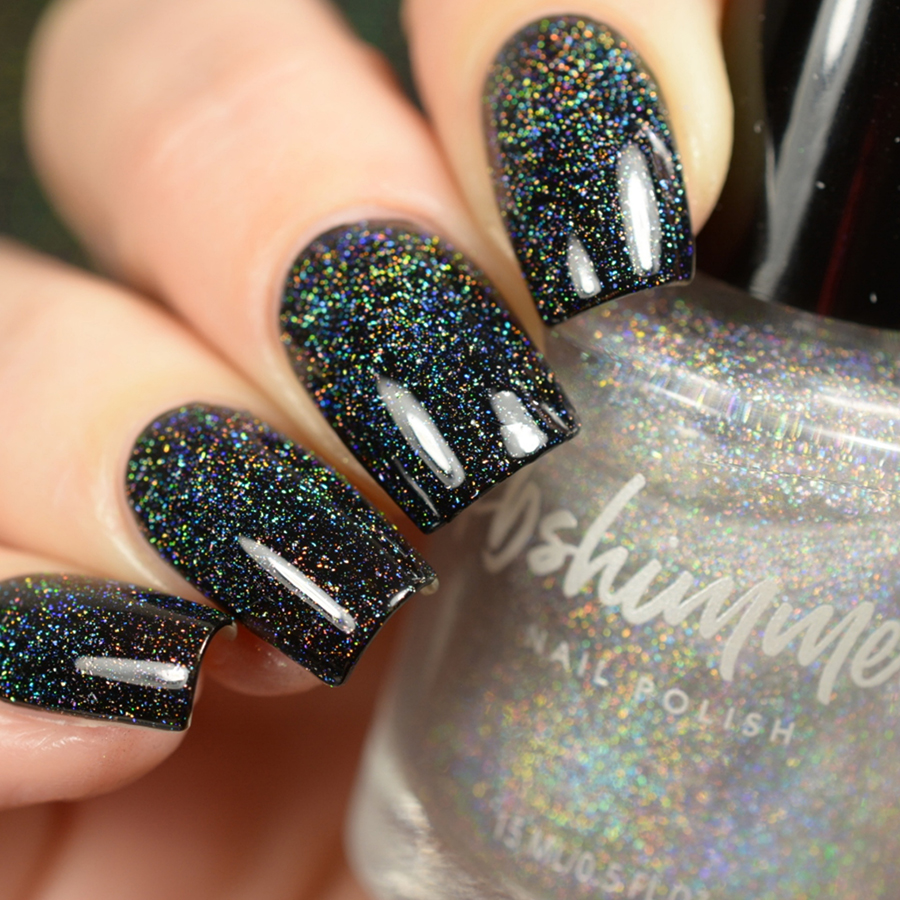 Shimmer And Sparkle Nail Polish: KBShimmer A Star Is Formed Micro Holo Flake Glitter Topper
