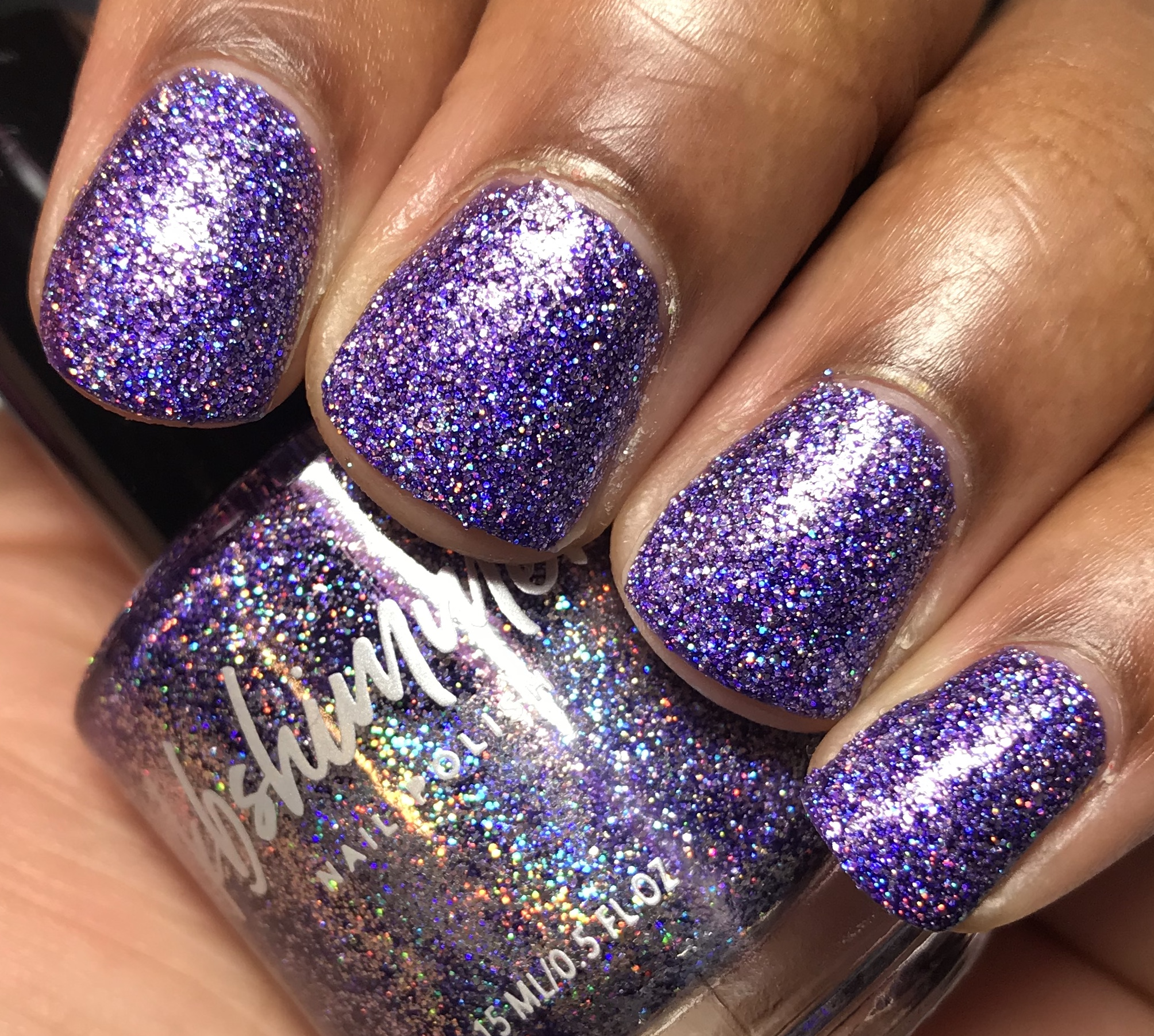 KBShimmer Best Witches Mega Flame Holographic Nail Polish