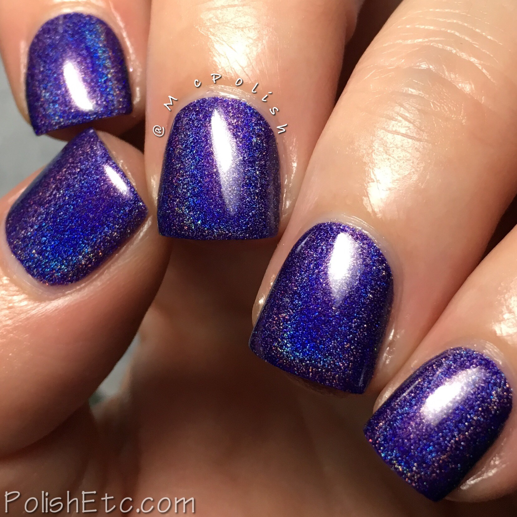 KBShimmer Come On Get App-y Holographic Nail Polish