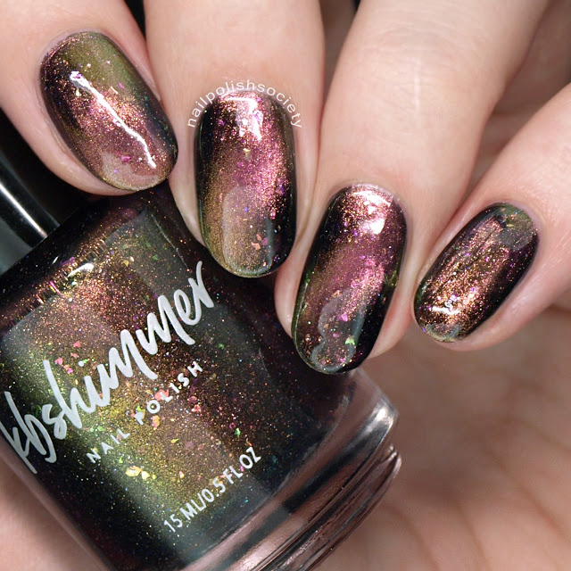 KBShimmer Creep It Together Multichrome Magnetic Nail Polish