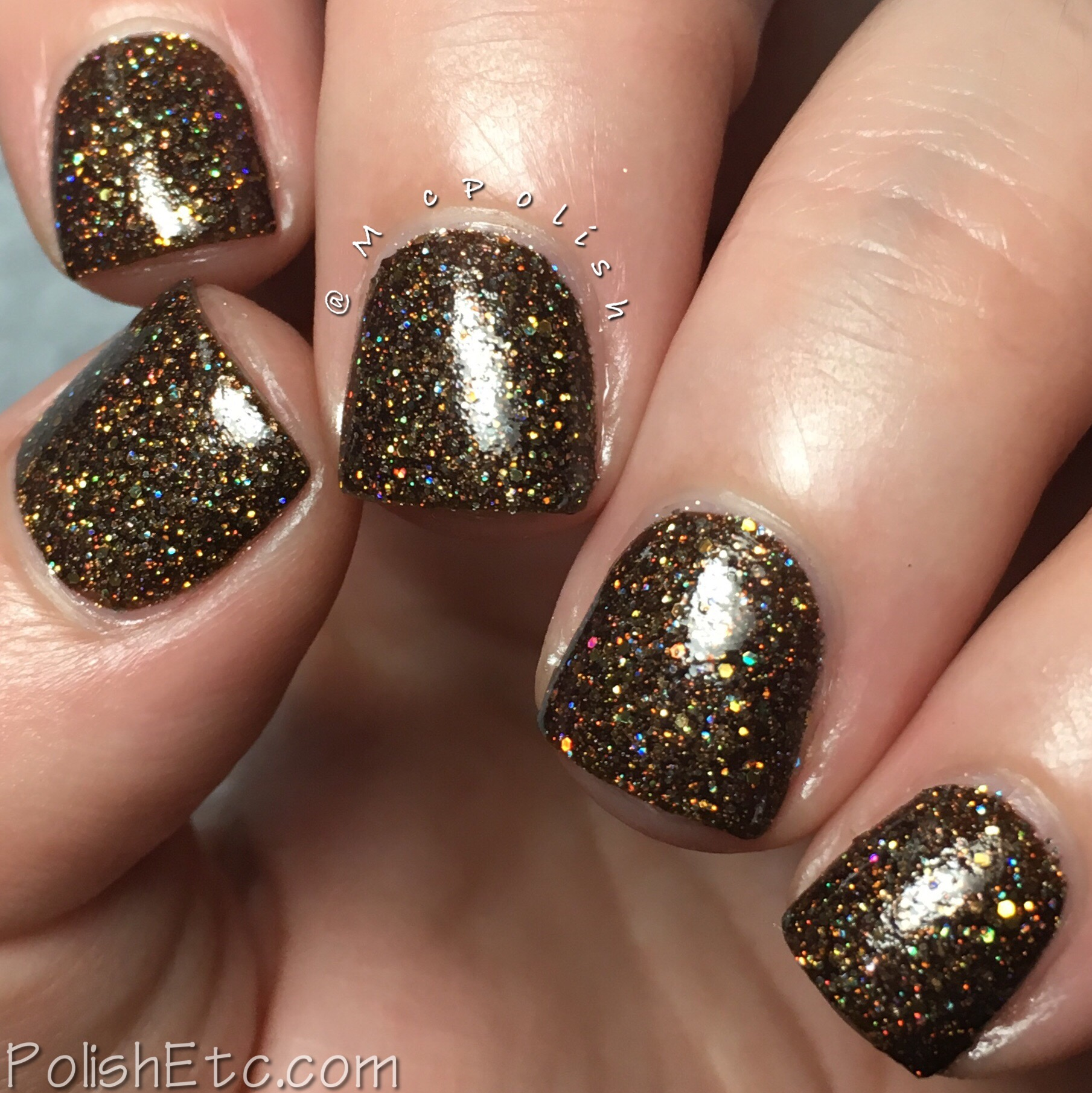 KBShimmer Espresso Yourself Holographic Nail Polish
