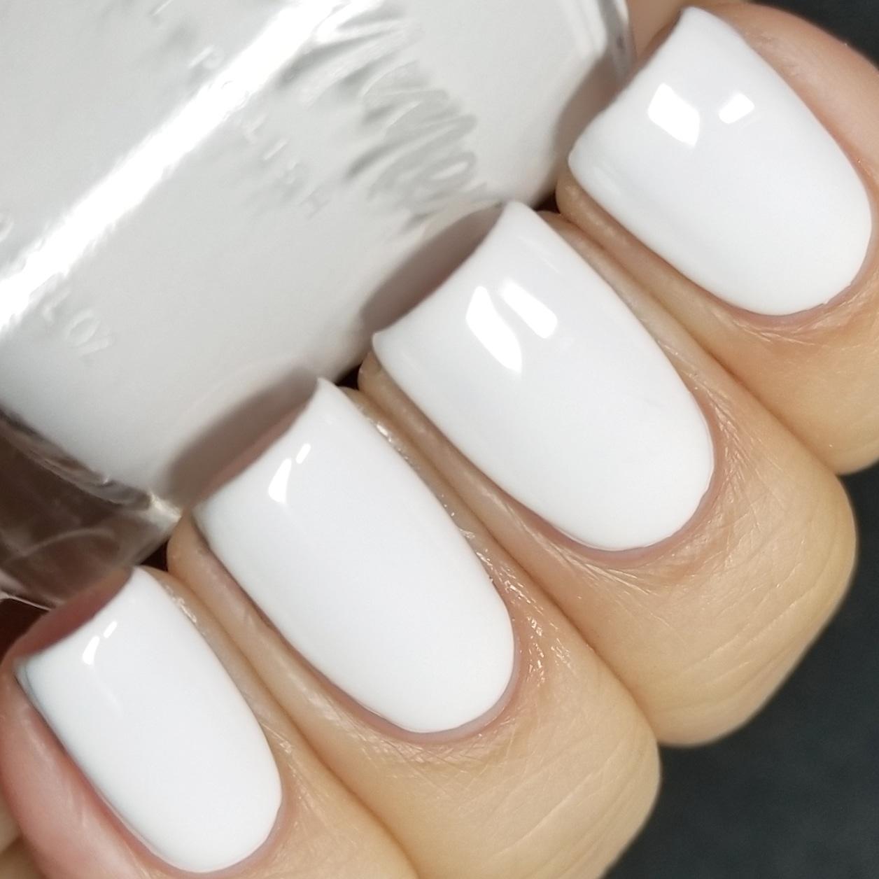 KBShimmer Eyes White Open Cream Nail Polish