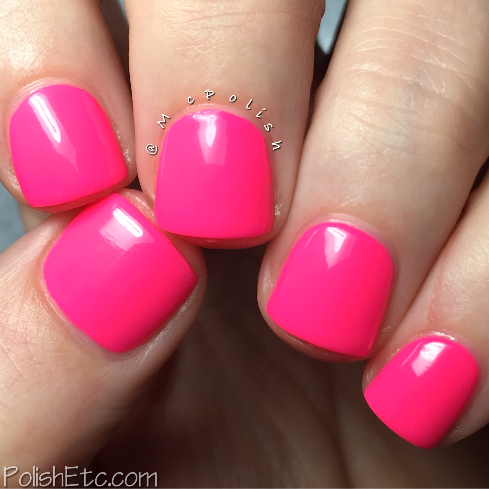 How Low Can You Flamingo Nail Polish