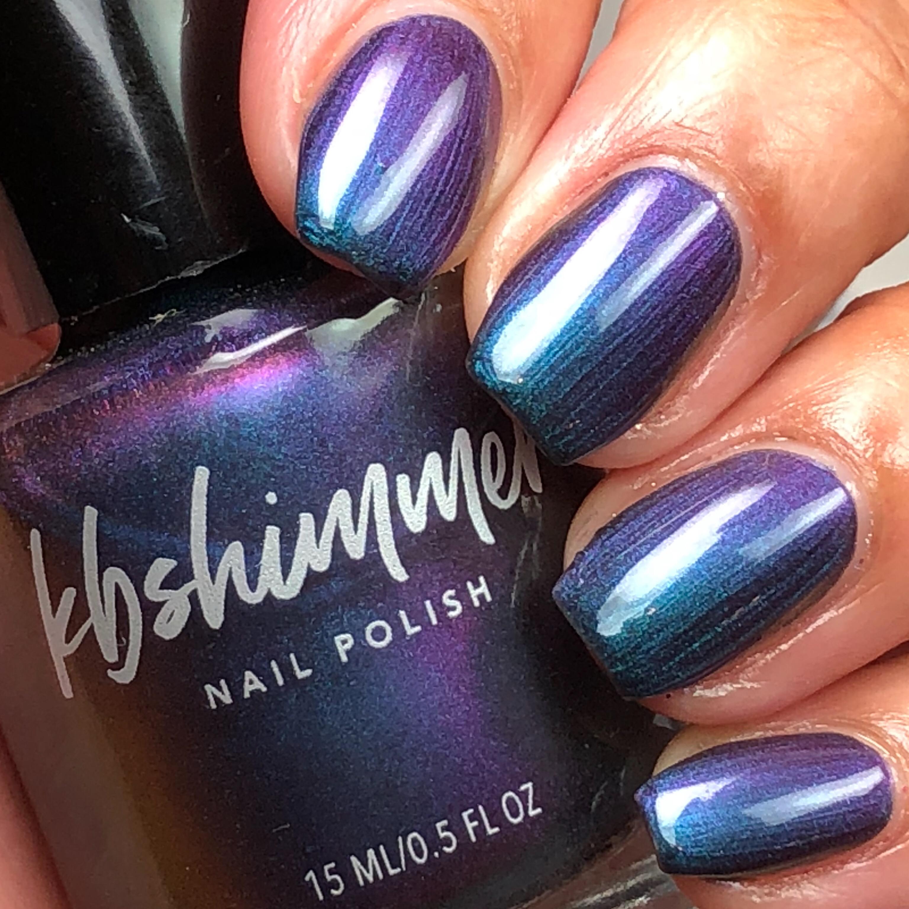 KBShimmer Iridescent Exposure Multi Chrome Nail Polish