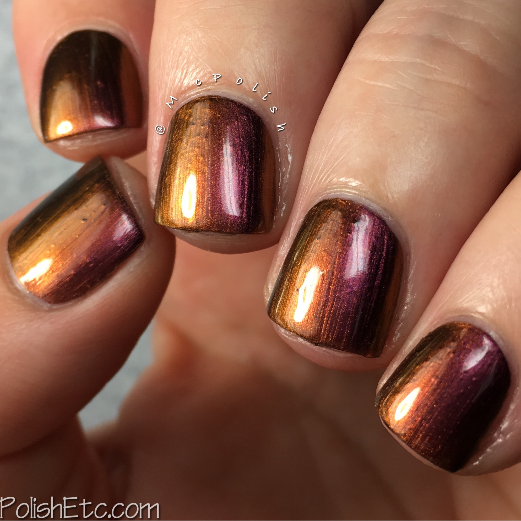 KBShimmer It\'s A Blazing Multi Chrome Nail Polish