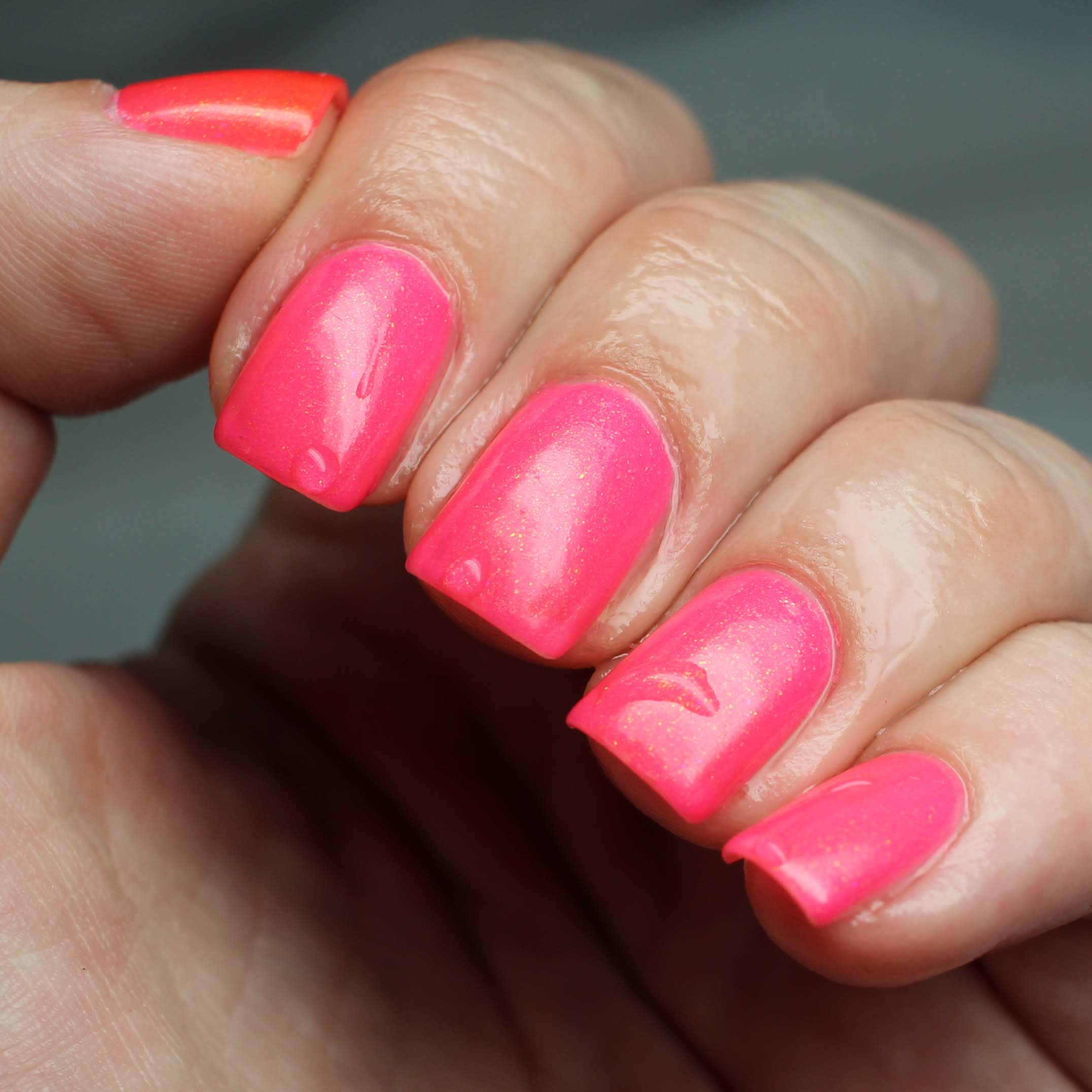 KBShimmer Just Glow With It Tri-Thermal Nail Polish