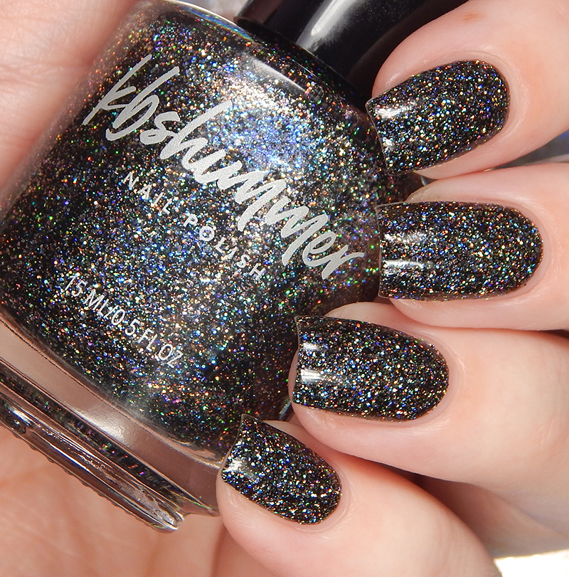 KBShimmer Night Bright Glitter Nail Polish