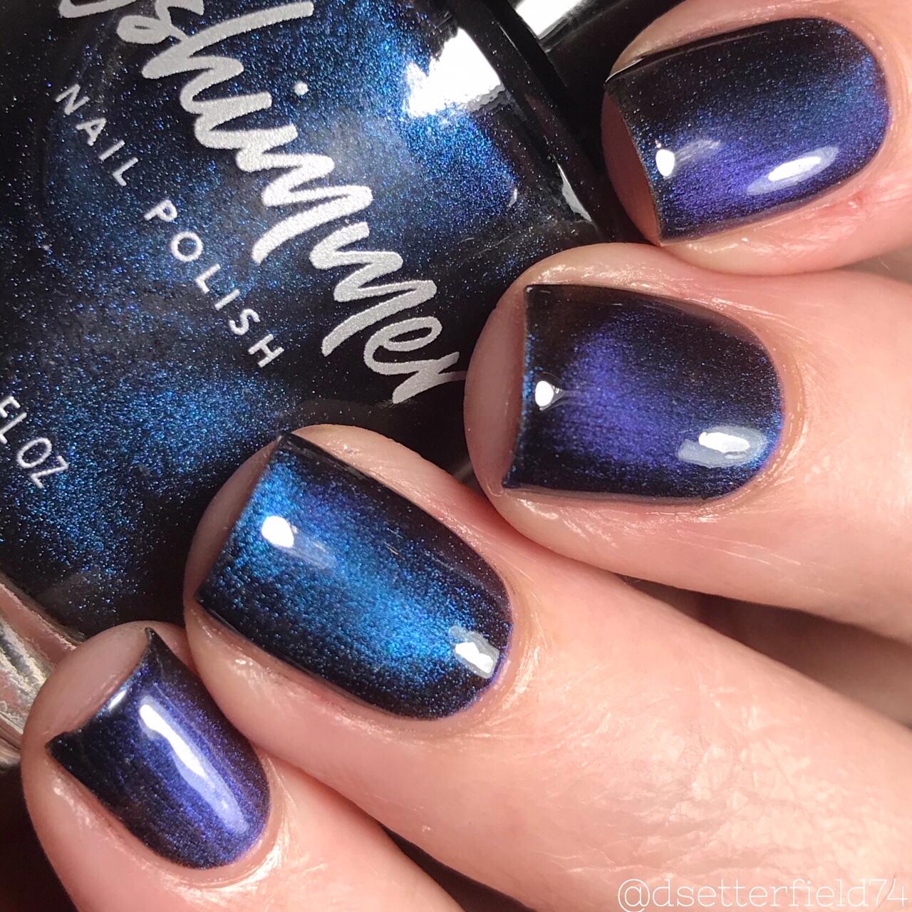 KBShimmer No Comet Multichrome Magnetic Nail Polish