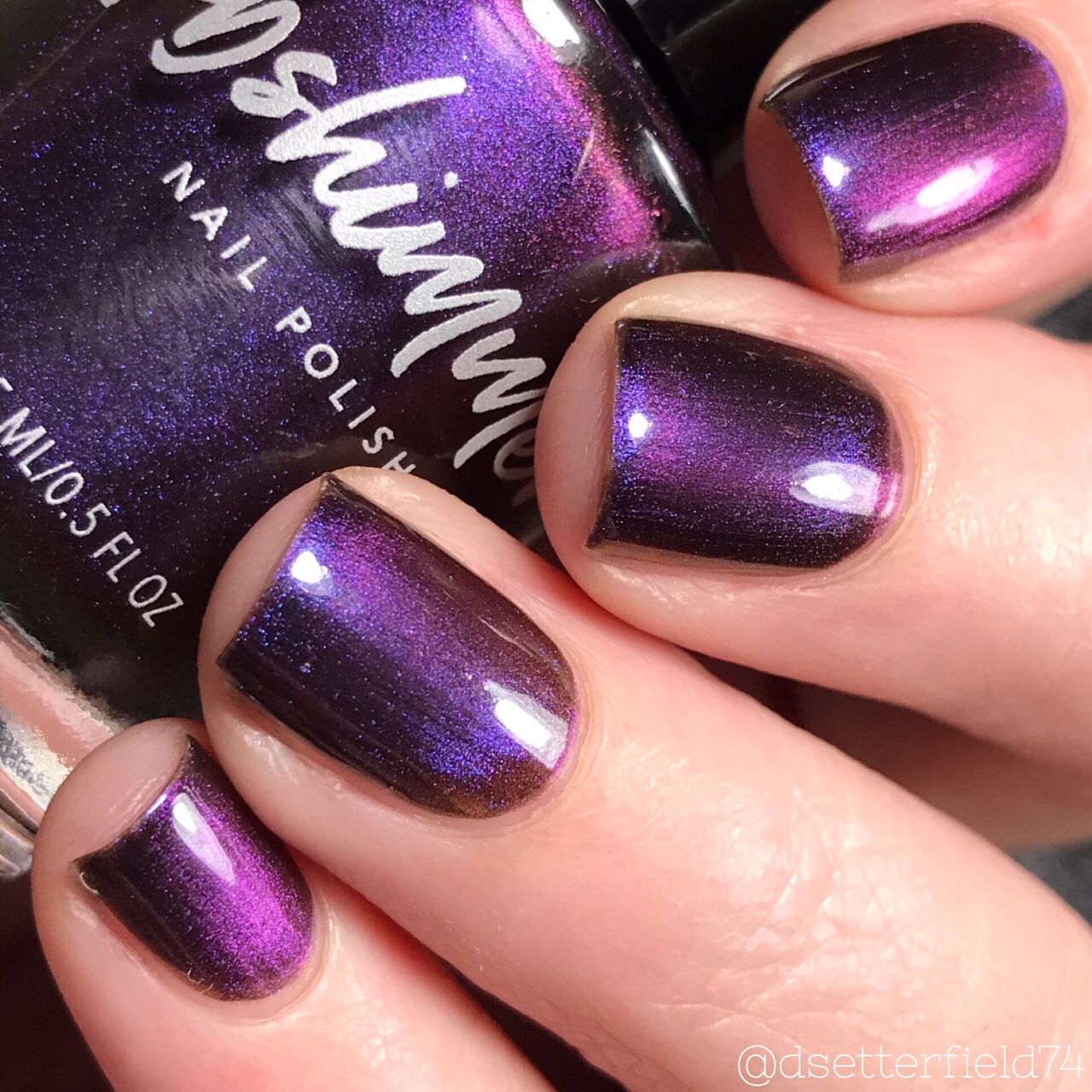 KBShimmer Orbits And Pieces Multichrome Magnetic Nail Polish
