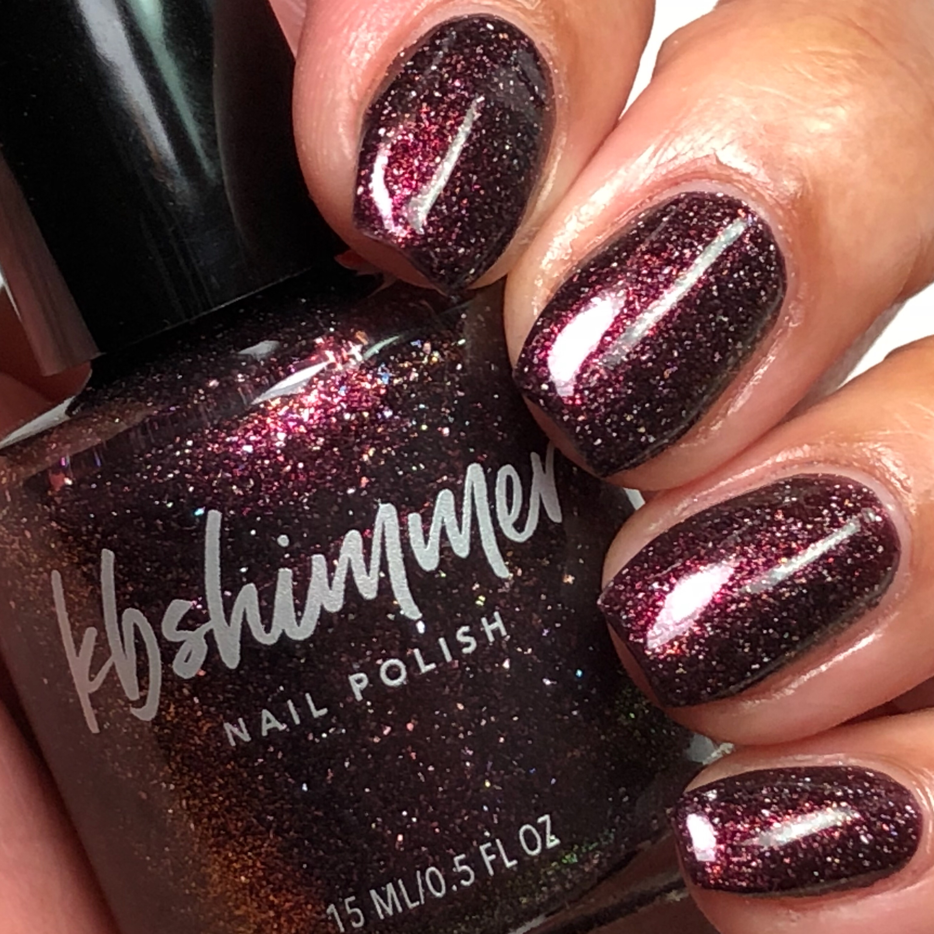 Pour Decisions Glow Flake Polish by KBShimmer