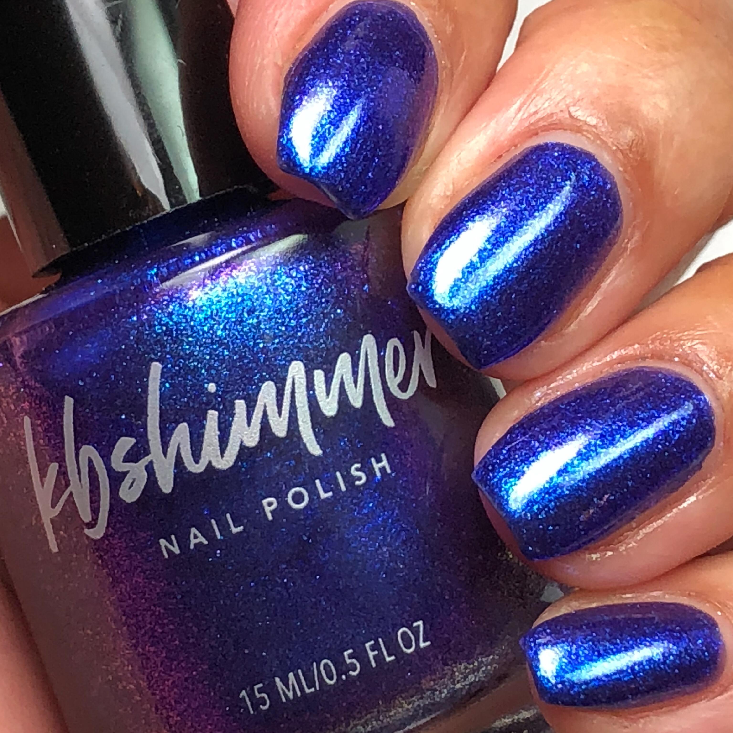 KBShimmer Royal To A Fault Holographic Nail Polish