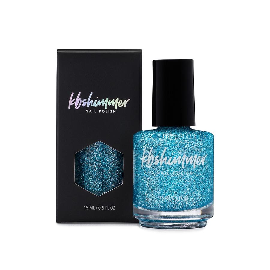 KBShimmer Set In Ocean Holographic Glitter Nail Polish