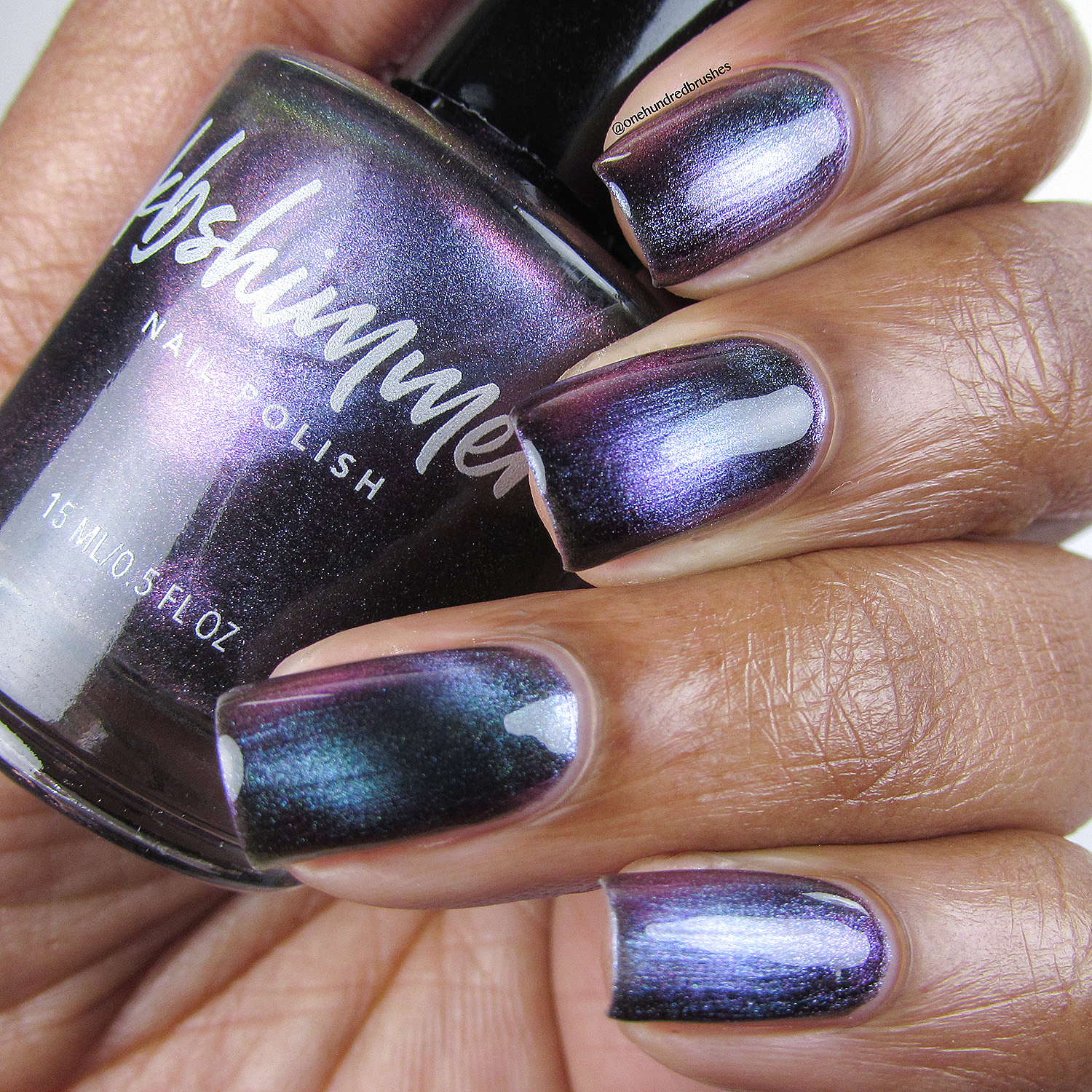 Nail Polish: KBShimmer Spaced Out Multichrome Magnetic Nail Polish