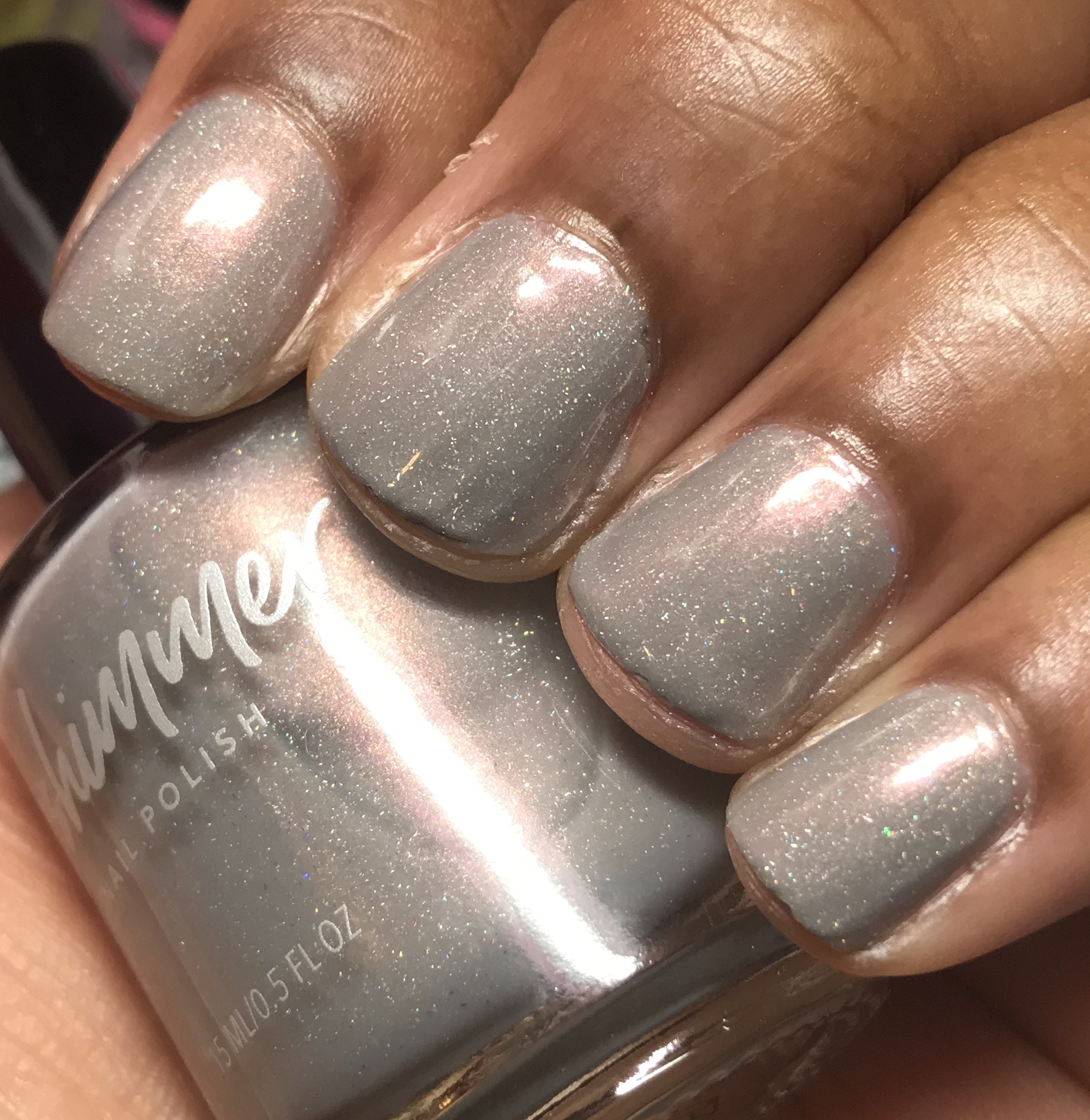 Taupe Notch Shimmer Nail Polish By KBShimmer