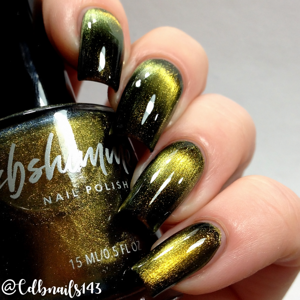 KBShimmer Thrust Issues Launch Multichrome Magnetic Nail Polish