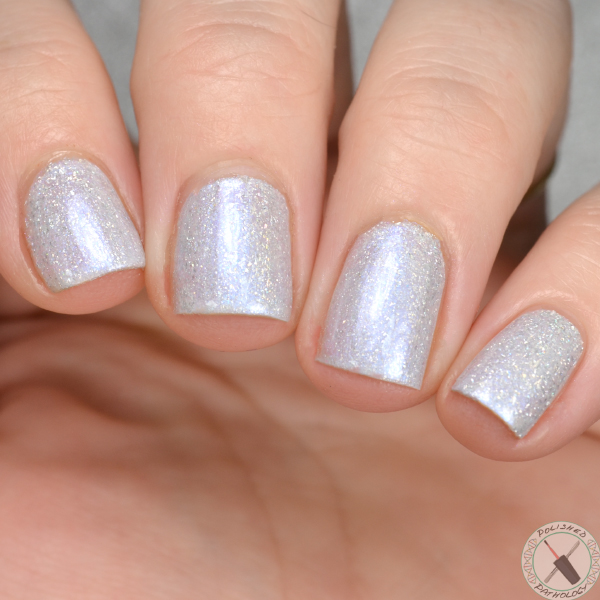 Up To Snow Good Holo Glow Flake Polish by KBShimmer