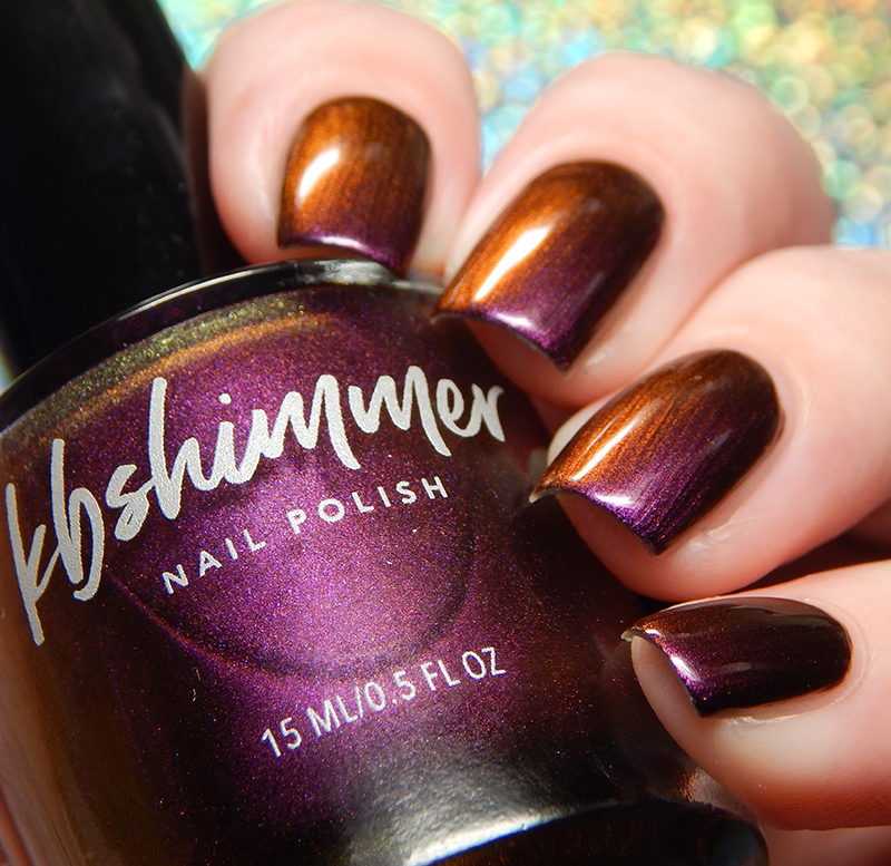 KBShimmer Wine Not? Multi Chrome Nail Polish