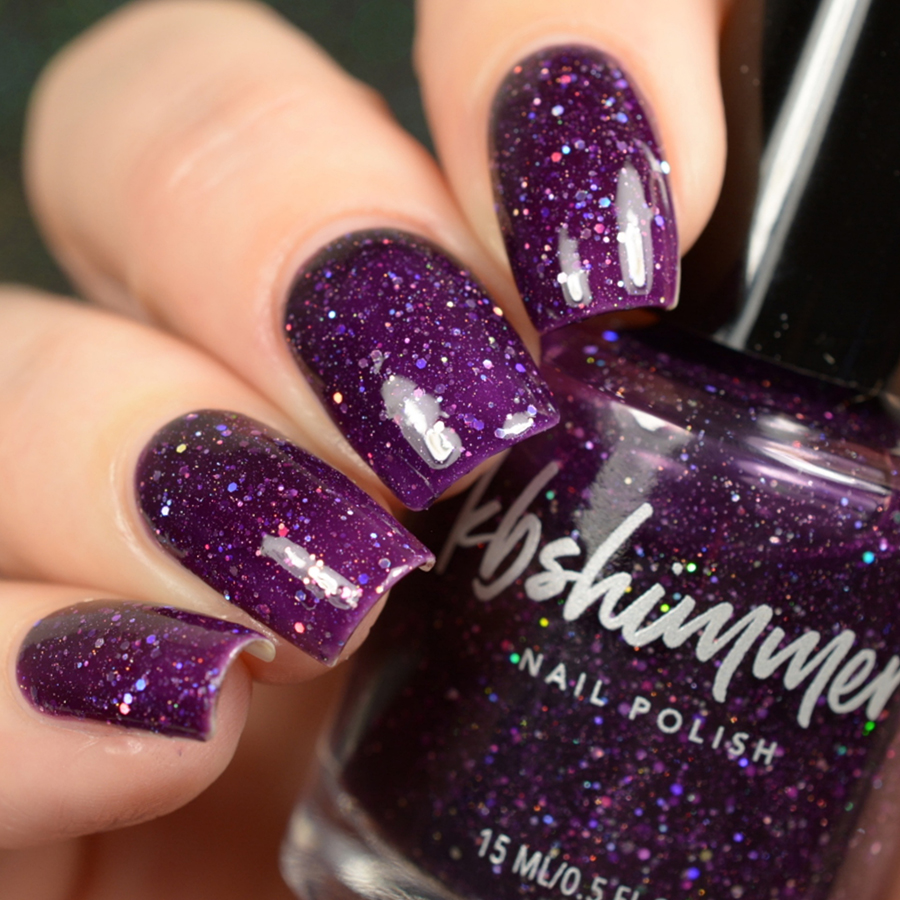KBShimmer Witch Way Jelly Glitter Nail Polish
