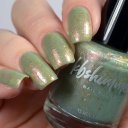 Amanita Moment Flakie Nail Polish