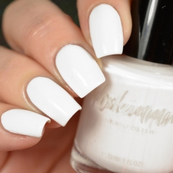Eyes White Open Nail Polish