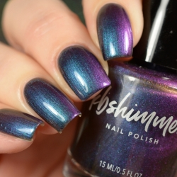 Iridescent Exposure Nail Polish