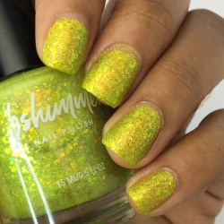 Something To Taco 'Bout Flakie Nail Polish