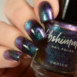 Universal Appeal Multichrome Magnetic Flakie Nail Polish